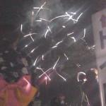 川越市花火大会に行きました
