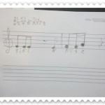リズム遊びから作曲のレッスンに発展